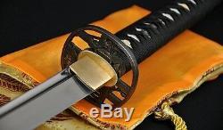 1060 High Carbon Steel FullTang Blade Japanese Samurai Battle Ready Sword Katana