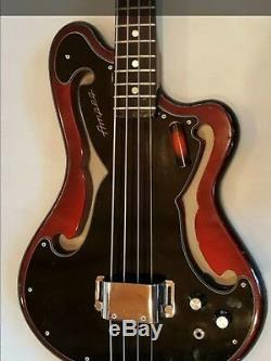 1966 AMPEG AEB-1 Bass All original with Brand New HSC Great Condition