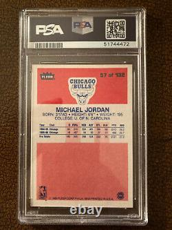 1986 Fleer Michael Jordan RC #57 PSA 8.5 Brand New Case, Stunning Card! 1986-87