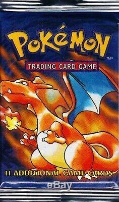 1999 Pokemon Base Set Booster Pack Original Charizard Factory Sealed Brand New