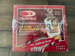 2000 donruss autographed hobby jumbo nfl football sealed box brand new rare