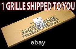 2014-15 GMC Sierra 1500 CHROME Snap On Grille Overlay 3 Bar Grill Covers Inserts
