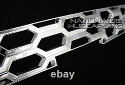 2014 2015 Chevy Silverado 1500 CHROME Snap On Grille Overlay Grill Insert Covers
