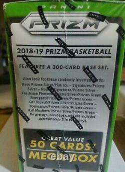 2018/19 PANINI PRIZM BASKETBALL MEGA BOX! Factory Sealed! BRAND NEW