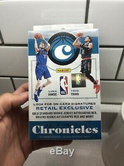 2018-2019 PANINI CHRONICLES HANGER Basketball Brand New Sealed BOX LUKA Trae