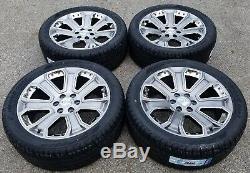 2018 GMC Yukon Denali Sierra 1500 Chevy Silverado Tahoe Wheels Rims Tires CK190