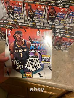 2019-20 Panini Mosaic NBA Basketball Trading Cards Mega Box Brand NEW SEALED