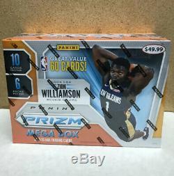 2019-20 Panini Prizm Nba Basketball Mega Box Target Retail Exclusive Zion Morant