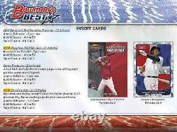 2020 Bowman's Best Baseball Hobby Box Brand New Sealed Free Priority Shipping