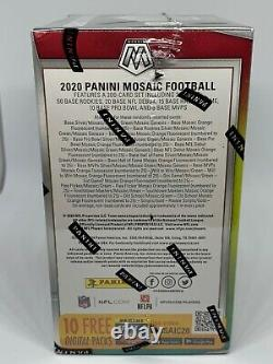 2020 Panini Mosaic NFL Football Blaster Box Brand New Sealed Ships Fast