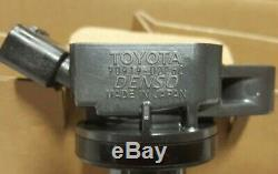 4 Brand New ORIGINAL Denso Toyota Ignition Coils Fits 4Runner Tundra Tacoma +++