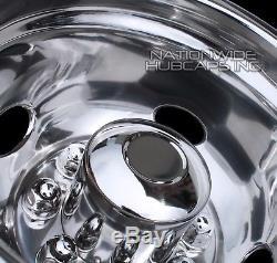 4 DODGE 16 Dual Steel Wheel Simulators Dually 8 Lug Rim Skins Liners Covers RV