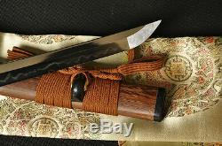 41 Handmade Japanese Samurai Tiger Sword KATANA Clay Tempered Full Tang Blade