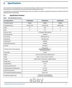 4TB 2.5'' Seagate Barracuda ST4000LM024 15mm SATA Hard Drive 100% Original New
