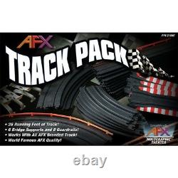 AFX Track Pack Slot Car Expansion Set 26 Feet of Straights, Curves & Squeezes