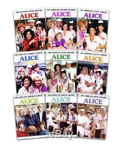 Alice Complete TV Series Seasons 1-9 + Original Pilot BRAND NEW BUNDLE DVD SET