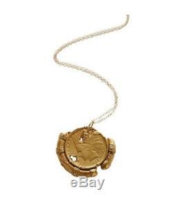 Alighieri Gold Heirloom Chain Pendant Necklace Brand New + Original Packaging