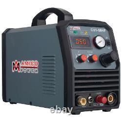 Amico CUT-50HF, 50 Amp Non-touch Pilot Arc Plasma Cutter, Pro. 100250V Voltage
