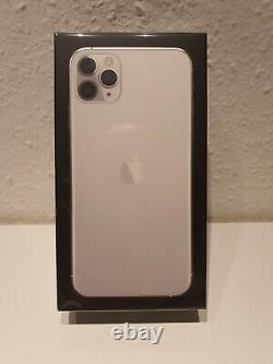 Apple iPhone 11 Pro Max, Silber, 256 GB, Originalverpackt, brandneu