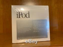 Apple iPod 5GB SUPER RARE 2001 1st Gen Original Classic MIB FACTORY SEALED