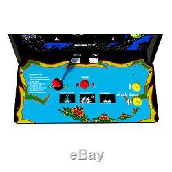 Arcade1Up Galaga Arcade Cabinet with Custom Riser Brand New