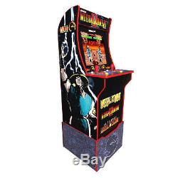 Arcade1Up Mortal Kombat At-Home Arcade Machine with Riser Brand New