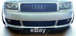 Audi A4 S4 B6 Front Bumper CUPRA R Euro Spoiler Lip Valance Splitter S Line RS
