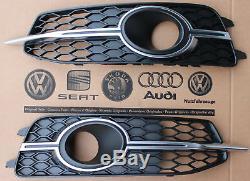 Audi A6 4G original Gitter Kühlergrill Stoßstange S-Line grill ACC bumper S6 C7