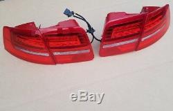 Audi A8 4E D3 LED Rückleuchten Heckleuchten Facelift Leuchten S8 Nachrüstsatz