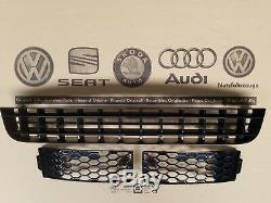 Audi TT 1 8N original Gitter Kühlergrill neu S-Line V6 phantomschwarz perleffekt