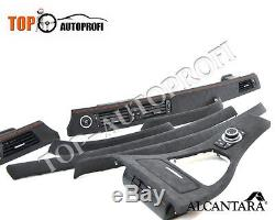BMW E90 E91 E92 E93 M Performance Interieurleisten mit Alcantara neu Beziehen
