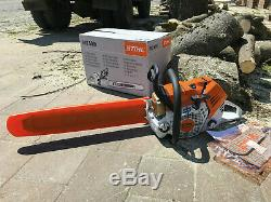 BRAND NEW ORIGINAL STIHL MS500i FUEL INJECTED CHAINSAW WITH TOOLS AND COVER