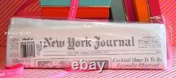 BRAND NEW RARE Kate Spade New York Journal ORIGINAL Newspaper Clutch Bag Purse