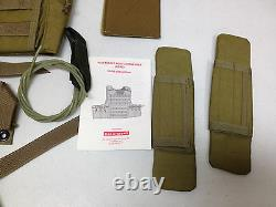 Bae Systems Sds Rbav Releasable Body Armor Vest Plate Carrier Small New