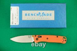 Benchmade 533 Mini Bugout, Cpm-s30v, Axis Lock, Orange Handle