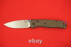 Benchmade 535-3 Bugout Cpm-s90v Carbon Fiber Handle Axis Lock Knife New In Box