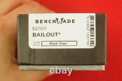 Benchmade 537gy Bailout Cpm-3v Axis Lock Tanto Blade Knife Ultralight