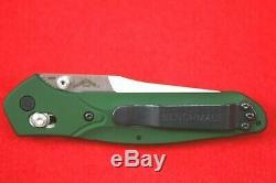 Benchmade 940 Axis Lock, Custom Osborne Design, Cpm-s30v Green Knife, New In Box
