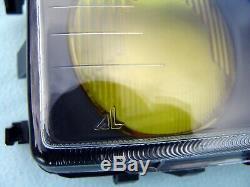 Bmw E36 M3 Gt Yellow Euro Ellipsoid Headlight Lenses, Original Bmw, Brand New