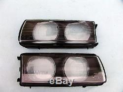 Bmw E36 M3 Zkw Euro Ellipsoid Headlight Lenses, Original Zkw, Brand New, Oem