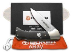 Boker Tree Brand Lockback Hunter Knife Grenadill Wood 1/145 145th Anniv 110235