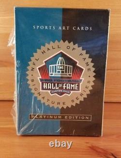 Brand New 1998 Ron Mix Hall of Fame Platinum Signature Series Card Set