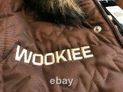 Brand New Adidas Star Wars Wookie Jacket Chewbacca style Originals Limited