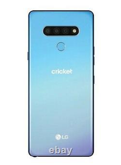 Brand New LG Stylo 6 LMQ730AM 64GB Blue (Cricket Wireless) Original