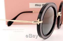 Brand New Miu Miu Sunglasses MU 08RS VIE9K1 Black/Grey Women