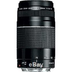 Brand New Original Canon EF 75-300mm f/4-5.6 III Non USM On Sales UK On Salesau
