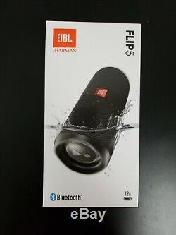 Brand New Original JBL Flip 5 Black Portable Bluetooth Speaker