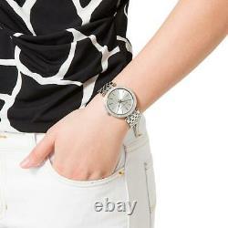 Brand New Original Michael Kors Ladies Watch Mk3190 Silver Darci Bnib Uk