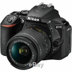 Brand New Original Nikon D5600 + AF-P 18-55mm Digital SLR Camera UKus