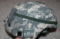 Brand New Original Us Army Issue Msa Sds Gentex Ach Mich Helmet Medium